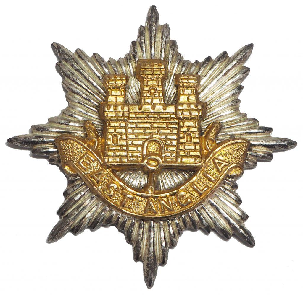 Royal Anglian Regiment Cap Badge